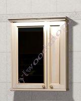 """Зеркало-шкаф для ванной с подсветкой """"Челси-1 АЛЕКС-75 береза"""""""