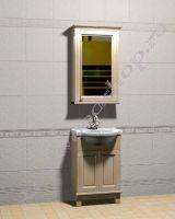 """Комплект мебели для ванной """"Челси-1 АЛЕКС-55R береза"""""""