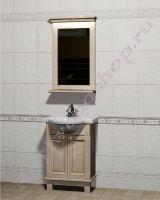 """Мебель для ванной из дерева """"Челси-1 АЛЕКС-55 береза"""""""