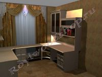 Угловой письменный стол 700x950x726мм