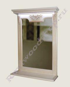 Зеркала  комнату с полочками