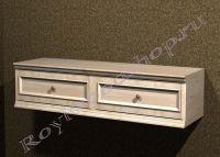 """Шкаф с 2-мя выдвижными ящиками """"Лондон СИТИ-2 береза"""" из дерева"""