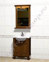 """Мебель для ванной комнаты """"Челси-2 УОРВИК-55 орех"""""""