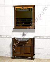 """Мебель для ванных """"Челси-2 УОРВИК-85 орех"""" из дерева"""
