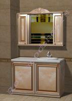 """Мебель для ванной под встроенную стиральную машину """"Глазго-С КОМБИ-L береза"""""""