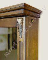 """Зеркальный шкаф для ванной """"Челси-2 УОРВИК-55 орех"""""""